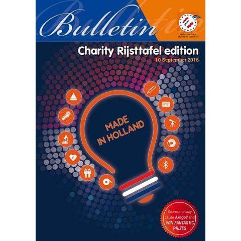 Bulletin - Menu Booklet